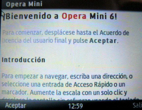 Opera mini c3222
