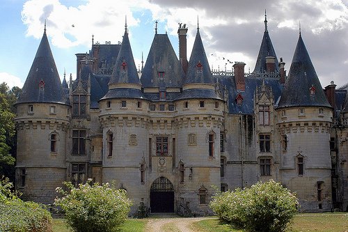 Castles On Line  The Castle Of Vigny