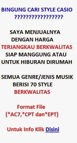 Jual Style/Rhythm Casio