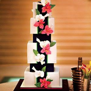 Modern Art Wedding Cake : Simply Unique s Blog: Tasty Modern Wedding Cakes