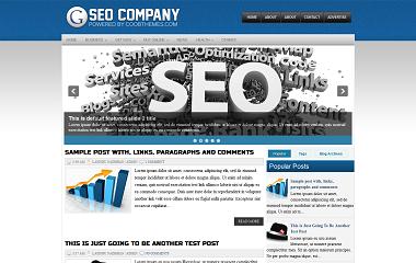 SEO Company Blogger Template