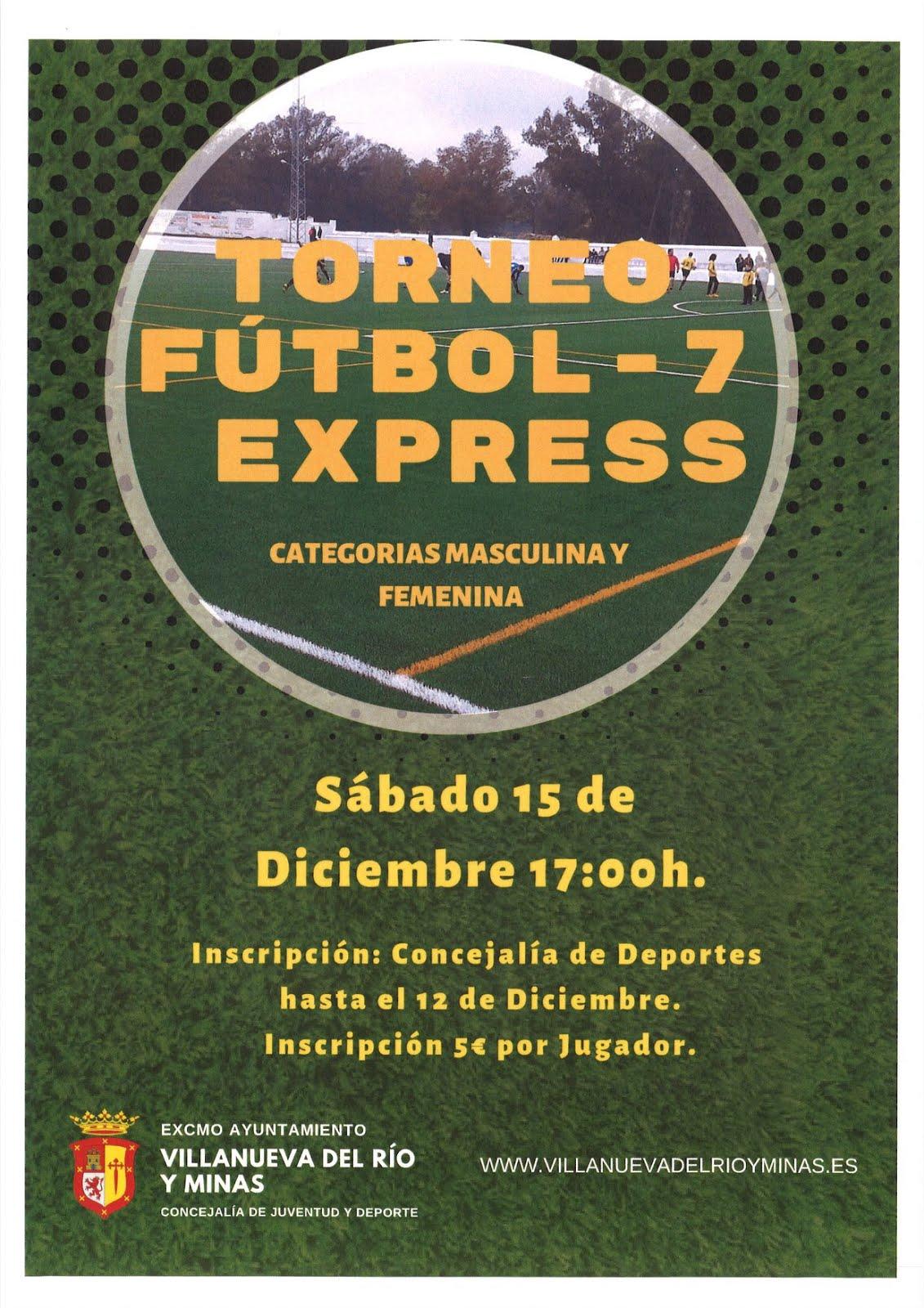 TORNEO FÚTBOL-7 EXPRESS