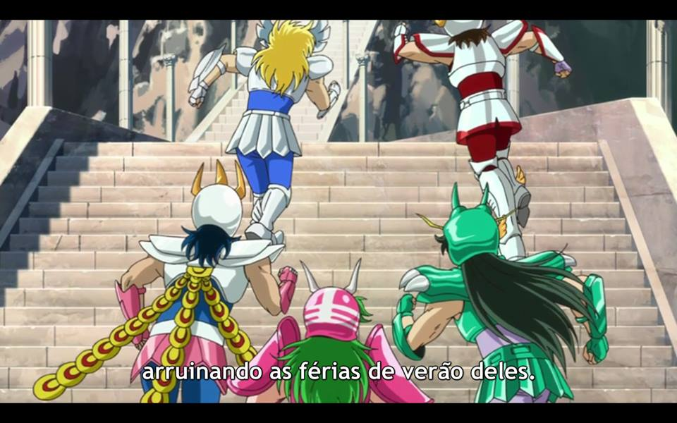 Omaggio a Saint Seiya nell' anime Gintama