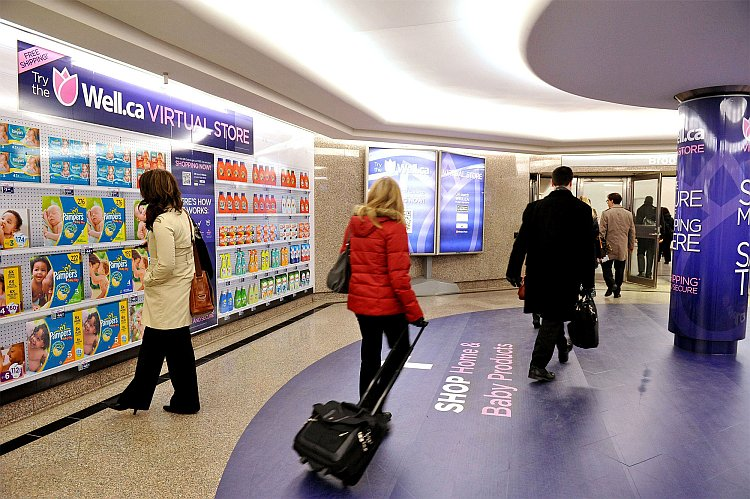 tescos virtual store from south korea International supermarket giant brings virtual goods to subway commuters in south korea, eliminating the need for a physical store.