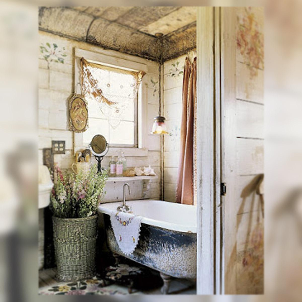 Almacen vintage ba os shabby bathrooms shabby chic - Banos shabby chic ...