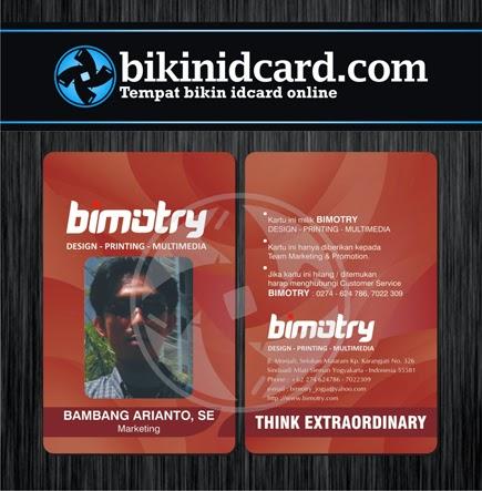bikin id card pegawai percetakan