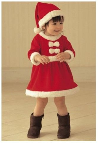 christmas cloth Santa Claus clothing Costume