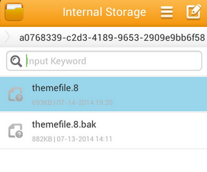 theme file line for android