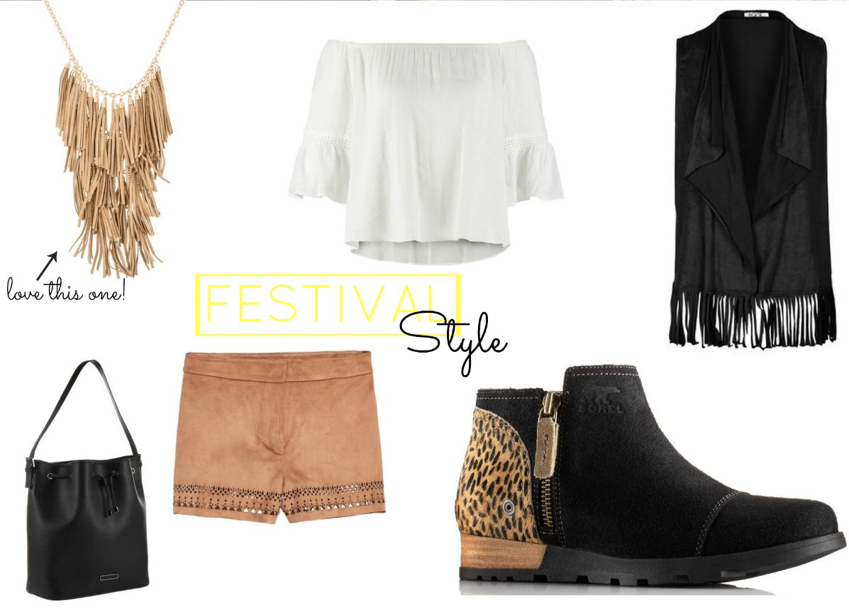 Festival Style Sorel Fransen Mode Fashion Inspiration Trends