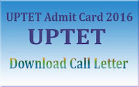 Download UP TET Admit Card 2016