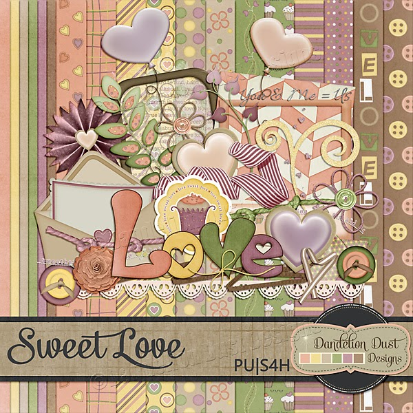 Sweet Love by Dandelion Dust Designs