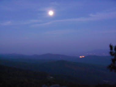 Full Moon Over the Shenandoah Valley