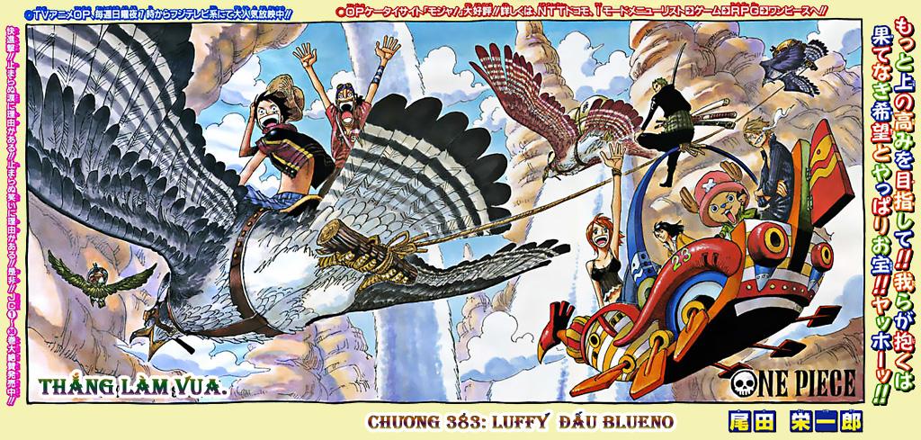 One Piece - Đảo Hải Tặc chap 383 page 1 - IZTruyenTranh.com