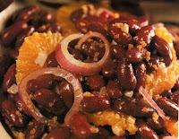 Salada de Feijão Vermelho (vegana)