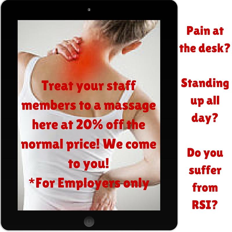Corporate Massage Scheme