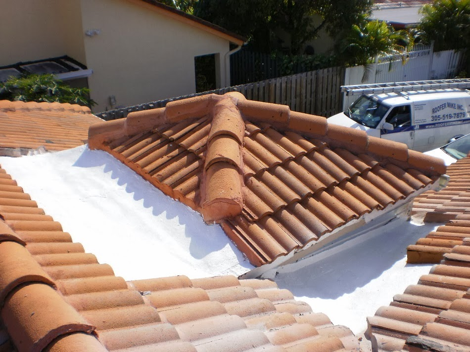 Tile Roof Repair On Cricket In Miami, Fl.