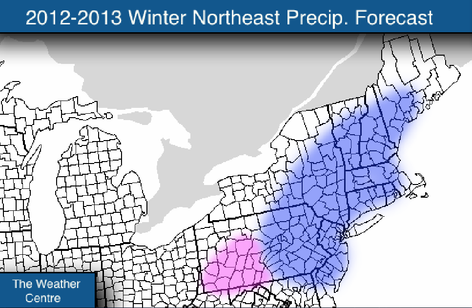 Official 2012-2013 Winter Forecast: Northeast