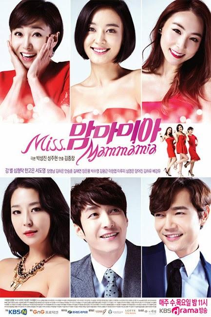 《2015韓劇 Miss Mammamia》愛情和戀愛的人生故事 ~ 姜星、韓高恩