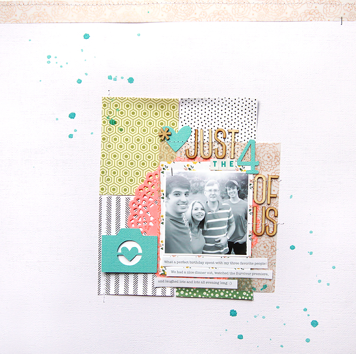 studio calico walden scrapbook kit