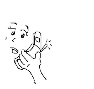 a desenhar telefones colorir