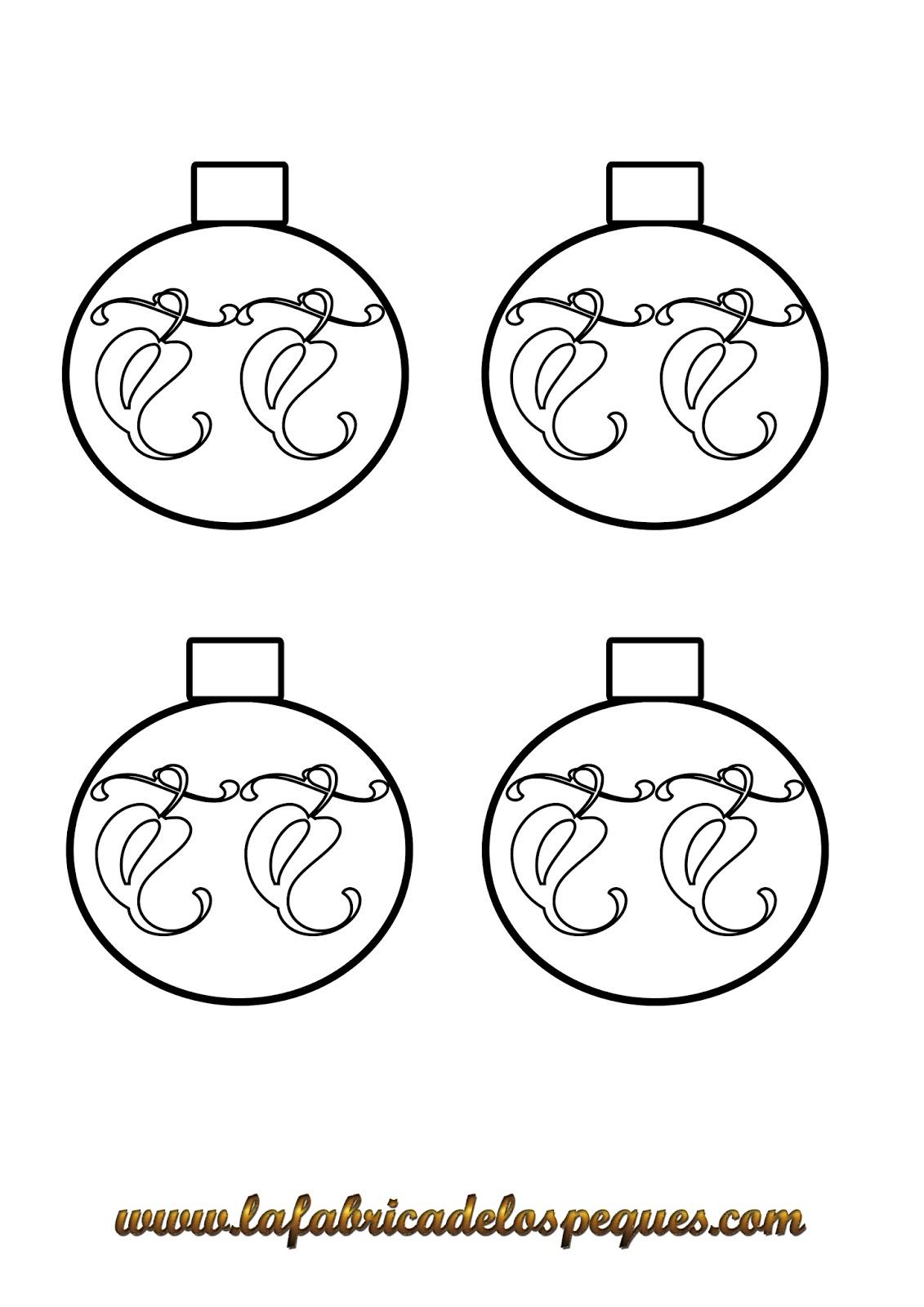 Imprimibles y moldes navideños gratuitos - La fábrica de los peques