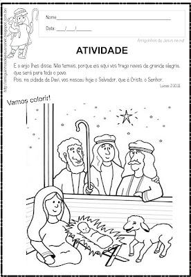 Atividade Bíblica  de Natal