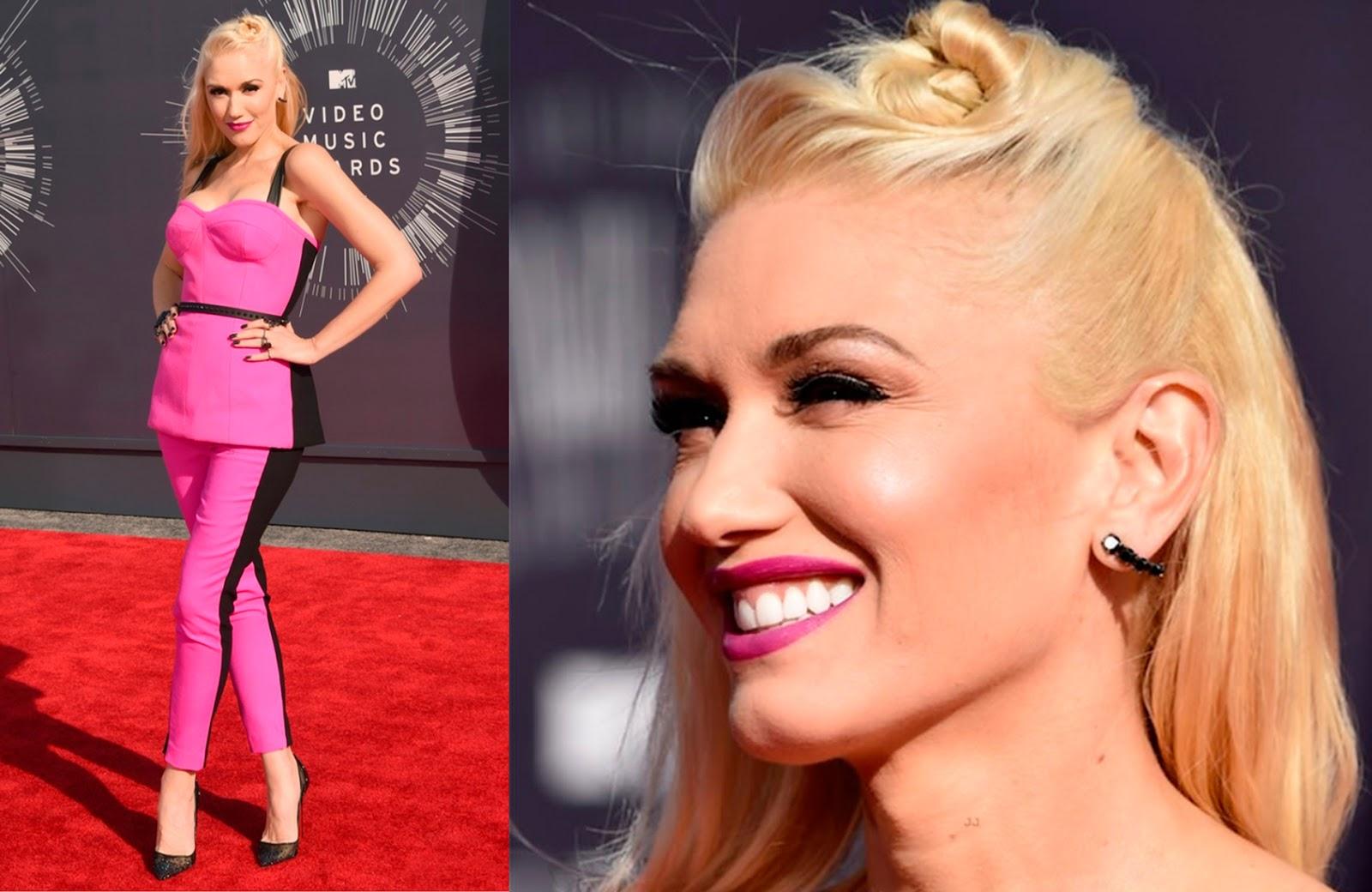 looks, maquiagens, bonitas, VMA,  2014, Gwen Stefani