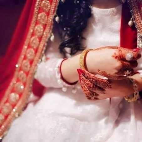 Beautiful bride bangal hide face dp 2016