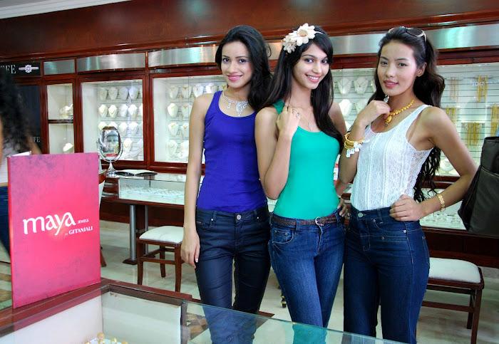 femina miss india finalist at maya store hot images