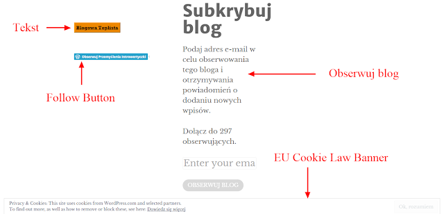Wordpress: Widgety na blogu