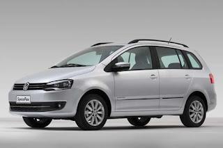 Foto do Novo SpaceFox 2014 da Volkswagen