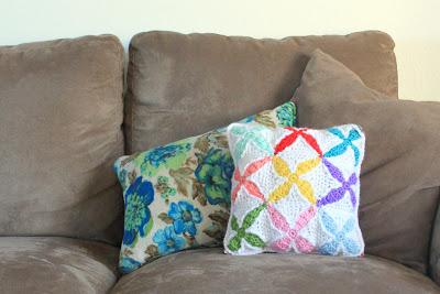 """IMG 8726 picnik 3 1/2"""" Quilt Inspired Crochet Square"""
