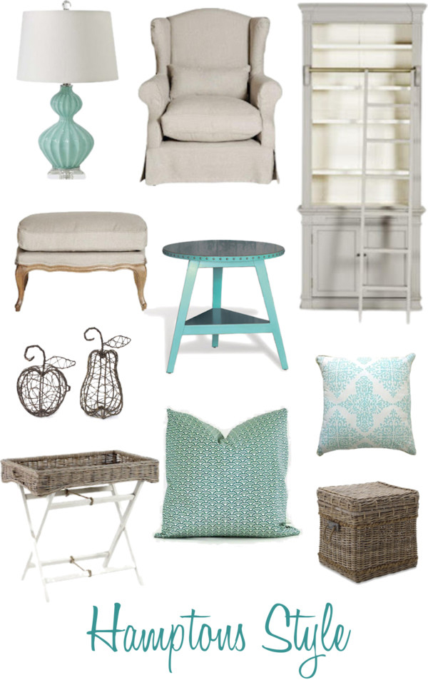 Coastal style hamptons style get the look for Hampton style interior decorating ideas