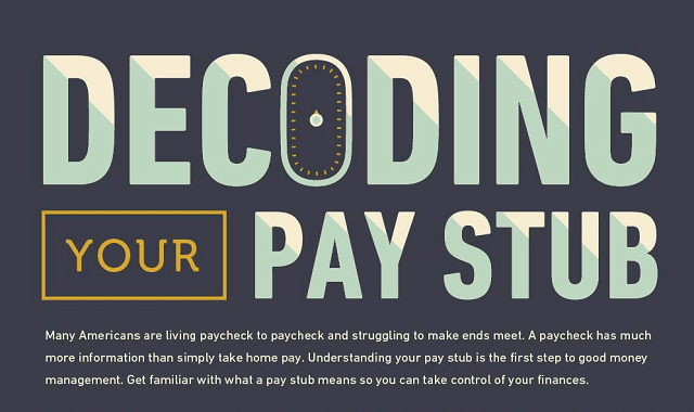 Decoding Your Pay Stub