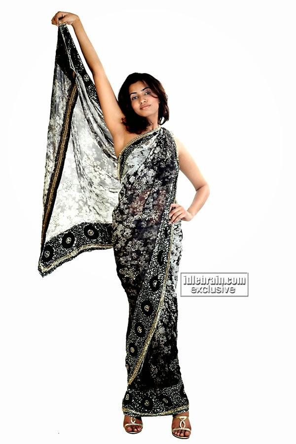 Akshara Gowda saree