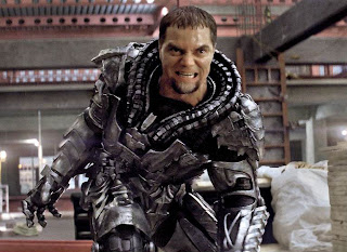 Michael Shannon as General Zod, Man of Steel, Directed by Zack Synder