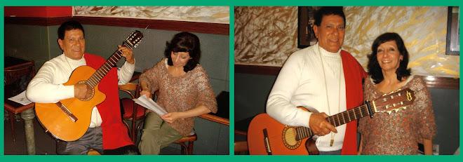 """Visitando a los amigos del Espacio de Arte """"La Morocha"""" en el Cafe.Bar el Vesubio"""