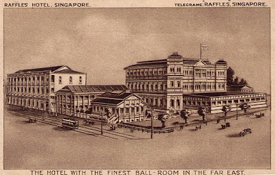 Das Raffles Hotel ist ein 1887 im Kolonialstil errichtetes Hotel in Singapur
