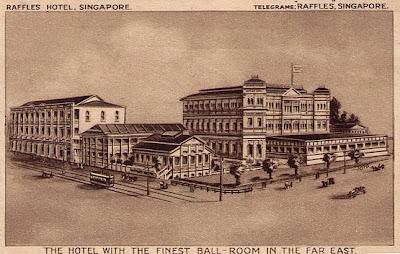 Das Raffles Hotel ist ein 1887 im Kolonialstil errichtetes Hotel in Singapur