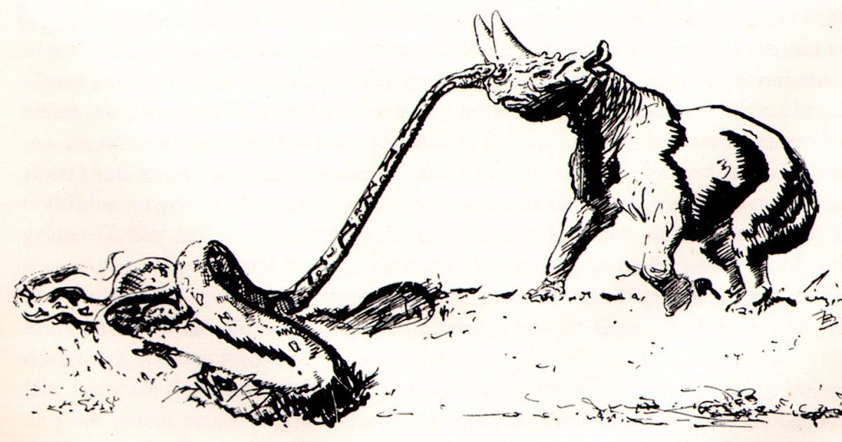 zdenk burian arsinoitherium snake bite