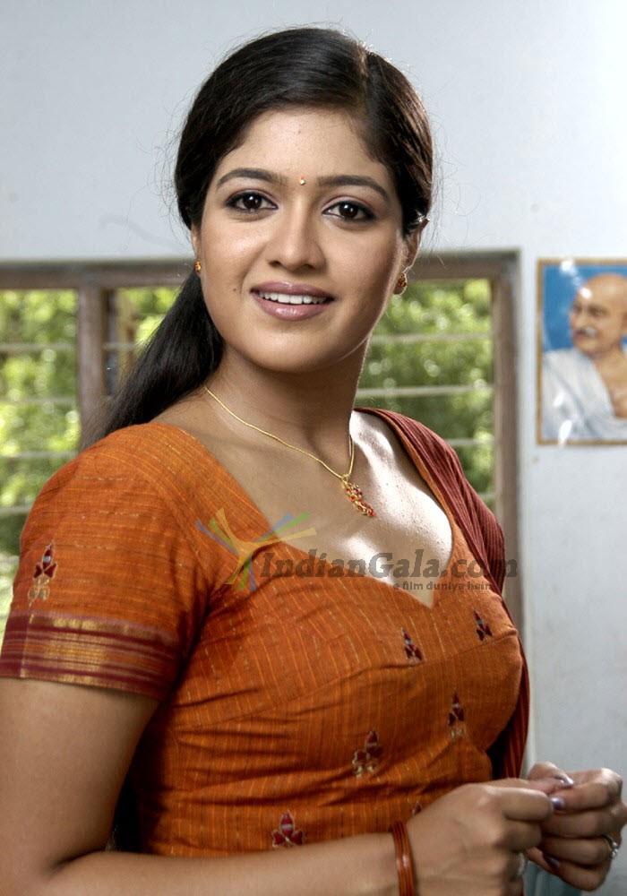Meghna Raj Hot Images From Yakshiyum Njanum Film