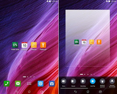 Launcher ASUS Zenfone Lollipop