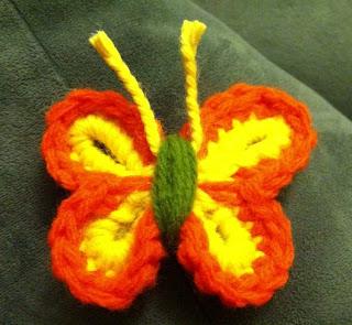 Free Easy Crochet Butterfly Patterns : NEW WEBSITE !! www.bobwilson123.org: Crochet Butterfly ...