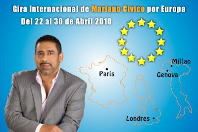 Mariano Civico gira internacional por Europa