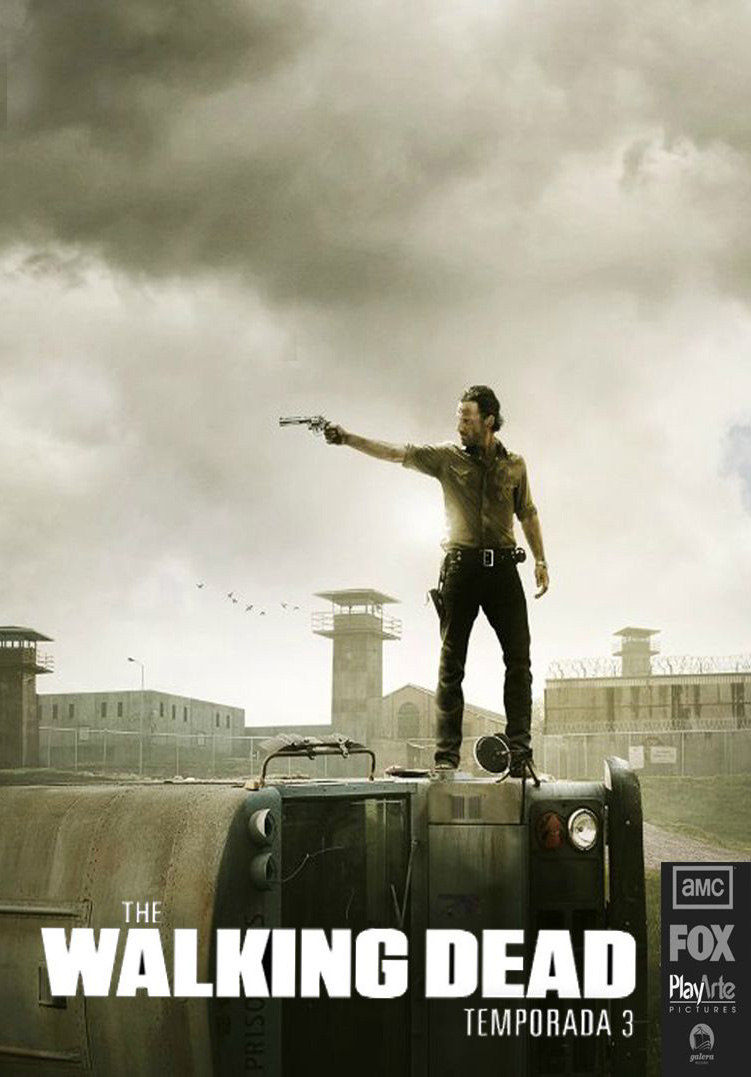 The Walking Dead 3ª Temporada Torrent – BluRay 720p Dublado (2012)