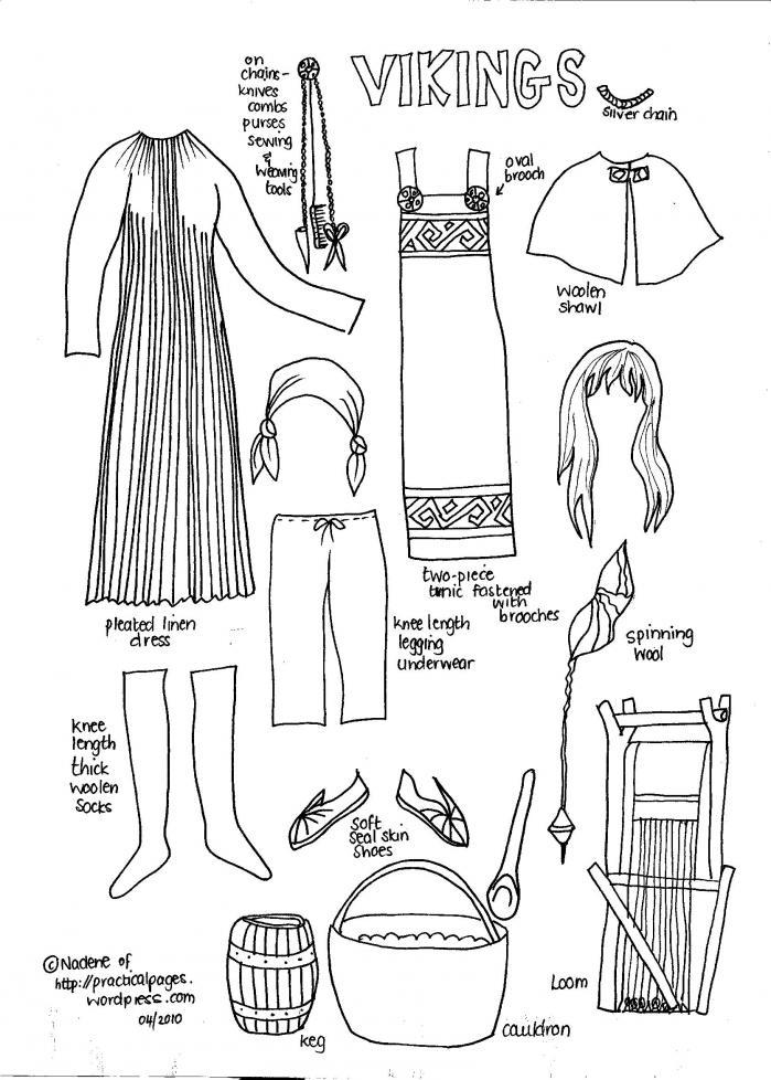 Viking activitiesAncient Vikings Clothing