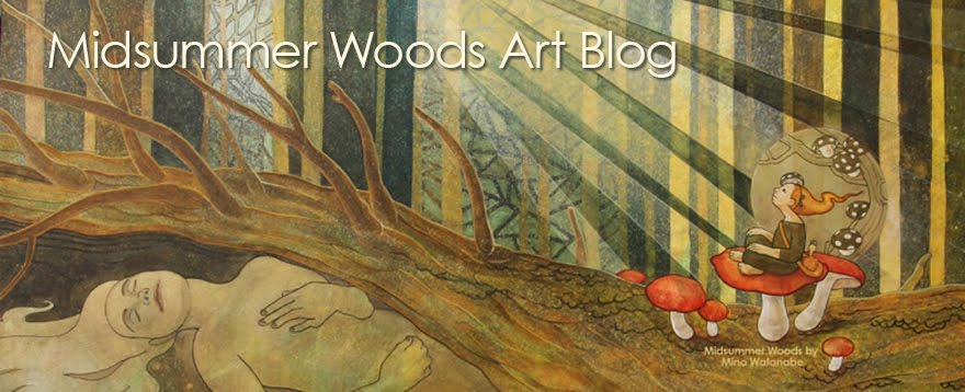 Midsummer Woods Art Blog