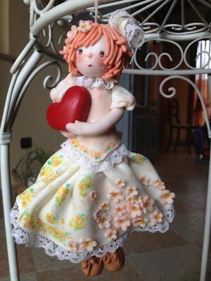 bambola di mais fiori