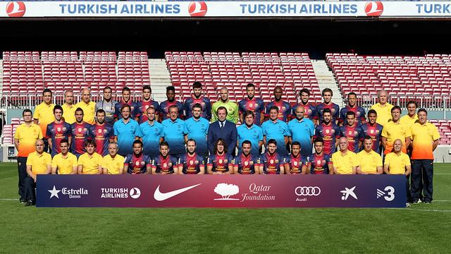 Formasi Tim Barcelona 2013