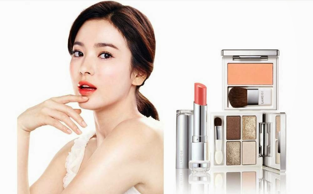 Raw Beauty, Makeup Trend 2014, Laneige, Laneige Makeup, Laneige Serum Intense Lipstick, Laneige Pure Radiant Shadow, Laneige Pure Radiant Blush